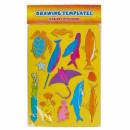 groothandel Tuin & Doe het zelf: sjabloon plast 180x260 vis-zolttasje met ...