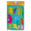 grossiste Décoration: pochette en plastique 180x260 animal avec un pende
