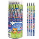 wholesale Licensed Products: pencil with eraser starpak Little Pet Shop tube 72