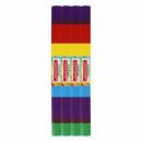wholesale Gifts & Stationery: blush paper 50x200cm rainbow mix 38 starpak fo