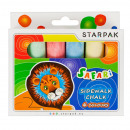 chalk for writing 6 colors safari pud