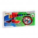 hurtownia Upominki & Artykuly papiernicze: plastelina 12 kolorów starpak safari pud