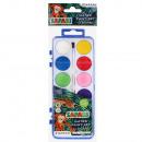 hurtownia Artykuly szkolne: farby akwarele 12 kolorów + pędzel fi28 starpak Sa