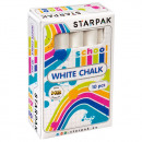school chalk white starpak op10szt pud
