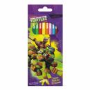 pencil crayons 12 colors / 180 starpak ninja tur p