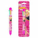 multi-colored pen 6 starpak Barbie blister
