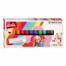 Knetmasse 12 Farben Starpak Barbie Pud