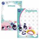 Diplom a4 Starpak Littlest Pet shop Tasche