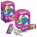 gift set backpack pencil case Smurfen na di