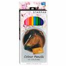 mayorista Regalos y papeleria: lápices de colores 12 colores / 180 caballos starp