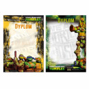 diploma a4 starpak Ninja Turtles pouch
