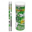 Bleistift mit Radiergummi Starpak Football Rohr 28