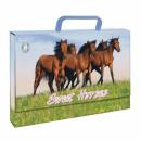 folder with handle a4 starpak horses pud