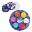 Großhandel Schulbedarf: malt Aquarelle 12 Farben fi21 Starpak Folie