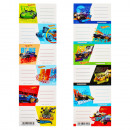 stickers for notebook Starpak Hot Wheels pouch