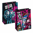 gift bag t4 starpak Monster High foil