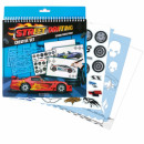 creative set 24x26cm starpak car design pouches