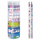 pencil with eraser starpak mix girls tuba
