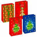 gift bag t4 starpak christmas foil