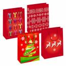gift bag t5 starpak christmas foil
