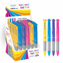 multi-colored pen 3 starpak Display