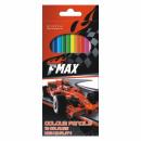 ingrosso Articoli da Regalo & Cartoleria: pastelli a matita 12 colori / 180 starpak fmax pud