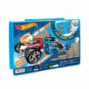 hurtownia Produkty licencyjne: zestaw artystyczny 68el starpak hot wheels pud