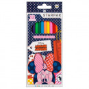12 color pencil pencils / 180 starpak Minnie pud