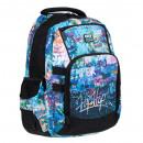Großhandel Schulbedarf: Starpak Rucksack Graffititasche