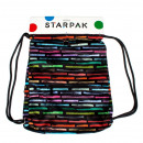 shoulder bag starpak art stripes pouch