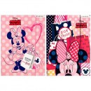 folder with paper eraser a4 starpak Minnie foil