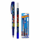 pen w + 2naboje + eraser Hot Wheels blister