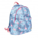 backpack starpak flamingos pouch