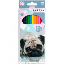 pencil crayons 12 colors / 180 starpak cuties pud
