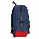 backpack starpak bv3 blue & red pouch