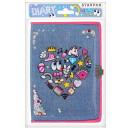 diary closed a5 starpak icons small bag with incl
