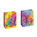 Großhandel Geschenkverpackung: Geschenktüte T5 Starpak Trolls Folie