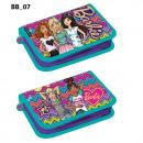 wholesale School Supplies: pencil case 1 zipper 2 wings starpak 47 35 Barbie