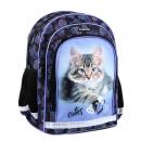 Starpak school backpack 14 kitty pouch