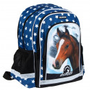 school backpack starpak 14 horses 1 bag