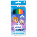12 color pencil pencils starpak efrozen pud