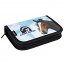 pencil case 1 zipper 2 wings equipped with starpak