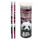 Bleistift mit Radiergummi Starpak Panda Tube