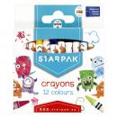 Wachsmalstifte 12 Farben Starpak Box