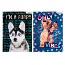 Großhandel Mappen & Ordner: Ordner mit Papier Radiergummi A4 Starpak Hunde Fol