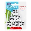 magnet, panda shape, starpak, blister pack