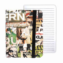 notepad with rubber band a5 / 80k starpak writing