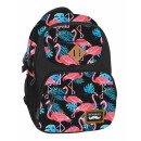 backpack starpak flamingos 2 pouch