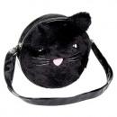 Großhandel Handtaschen: Umhängetasche Plüsch Starpak schwarze Katze ...