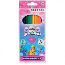 12 color pencil pencils / 180 starpak hatchimals